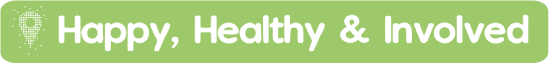 happy healthy and involved logo
