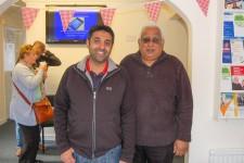Local pharmacist Manny and Hay Sharma