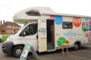 Online Centres UK Brancing Out Bus (BOB)