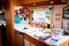 Inside BOB the branching out bus