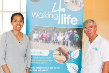 Walking 4 Life representatives