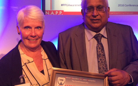 WS-PPG Chair Di Kent and Vice Chair Hay Sharma receive N.A.P.P Corkill Award