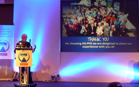 Di Kent speaks at N.A.P.P conference