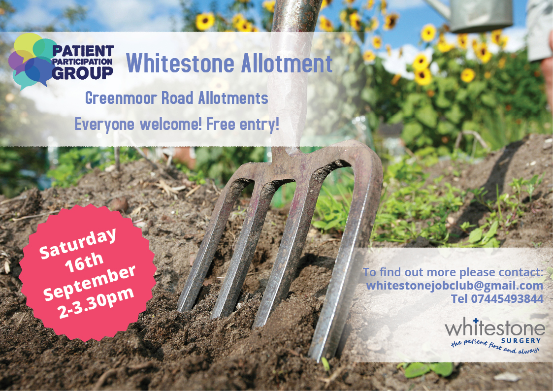Whitestone Allotment Community Gardening Project Opening
