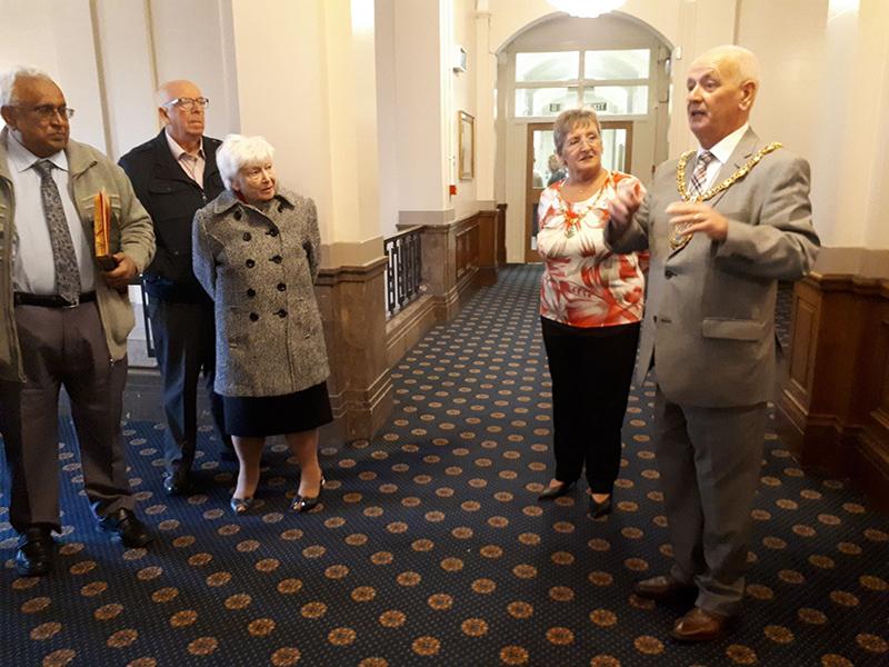 Carers' Café major's visit