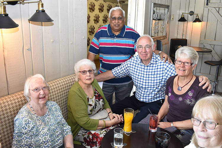 carers' cafe lunch with the mayor