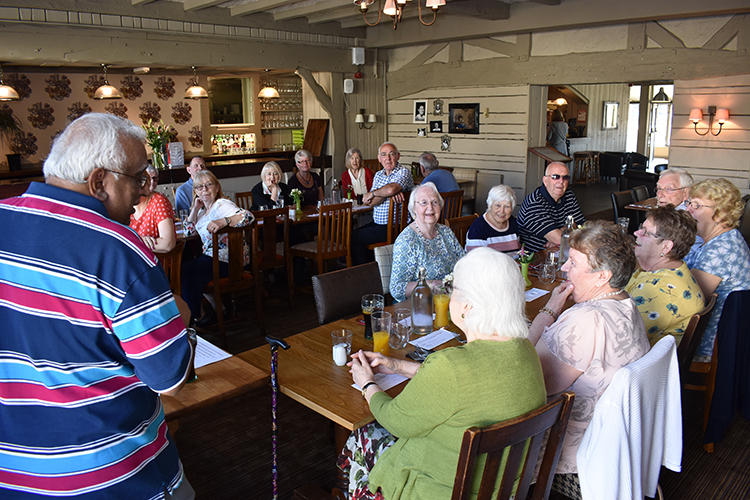 carers' cafe lunch with the mayor 3