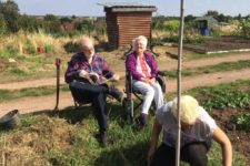 Groundbreakers – growing friendships and some amazing veg!