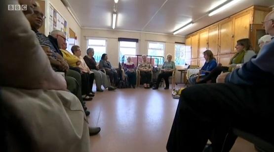 Carer's Cafe on BBC News