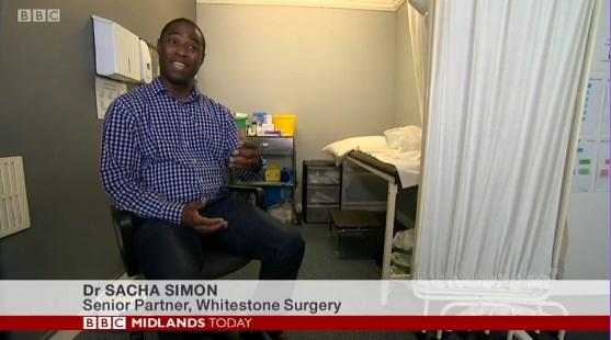 Dr Sacha Simon on BBC News