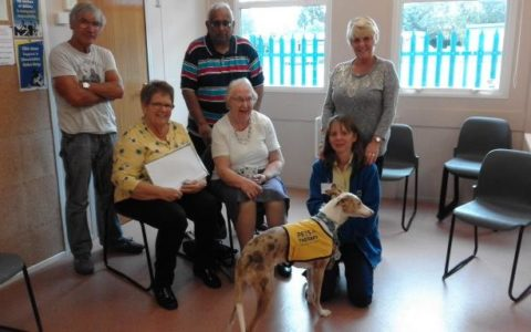 Pets as Therapy visits Caring Café