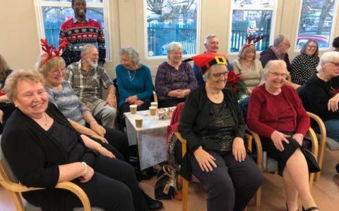 Caring Café Christmas get together 2019