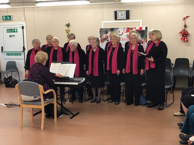 Visit from the Len Type Singers Choir