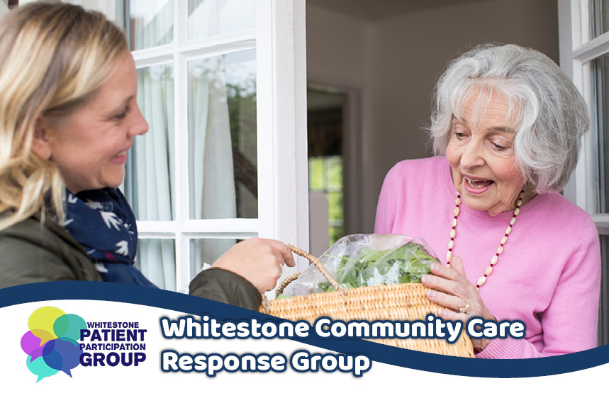 whitestone volunteer helping the community