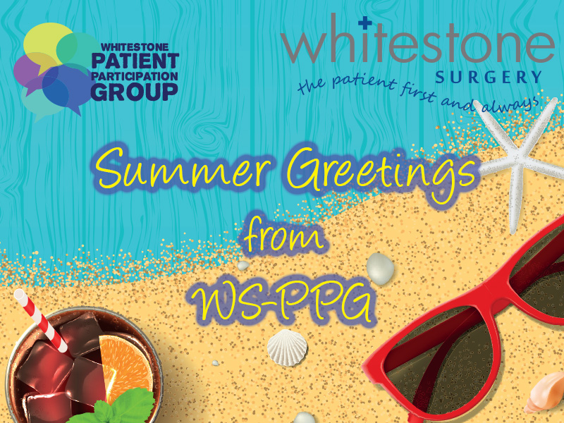 Summer Greetings from WS-PPG