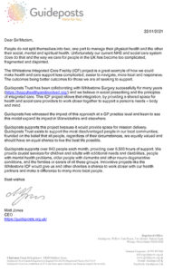 Letter of Support Guideposts